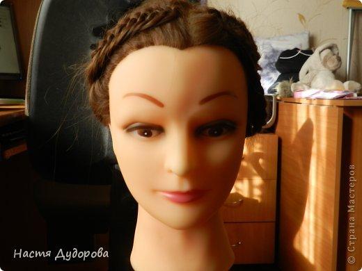 Причёска из узлов МК фото 2