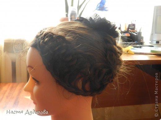 Причёска из узлов МК фото 4