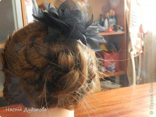 Причёска из узлов МК фото 5