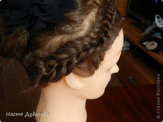 Причёска из узлов МК фото 6