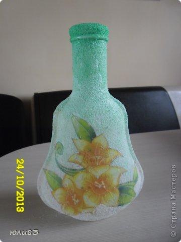 Доброго всем дня. Вот такая вазочка получилась у меня. Сделано все очень просто, а выглядит (по-моему) симпатично.  фото 2
