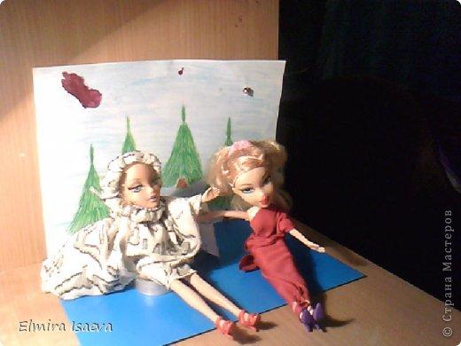Вот мои куколки  1)Снежная королева 2)Её подруга королева лета которая приехала из жаркой пустыни к своей сестре на Новый год фото 1