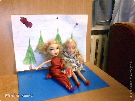 Вот мои куколки  1)Снежная королева 2)Её подруга королева лета которая приехала из жаркой пустыни к своей сестре на Новый год фото 5