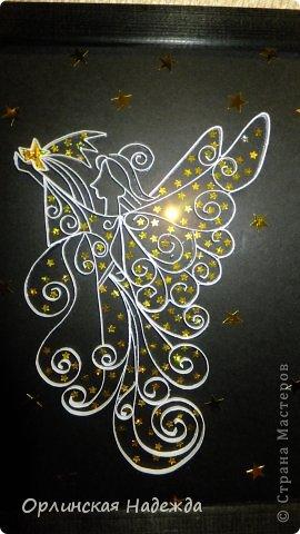 Моя повторюшка. Идея отсюда: https://www.pinterest.com/pin/125819383311810060/   Подарок на день рождения одной очень хорошей девочке. Она увидела моего первого Ангела, ей очень понравился, но тот Ангел был сделан для внучечки.   Анютка для тебя!  Пусть счастья будет полон дом, И станет без сомненья, Прекрасным, светлым, добрым днём День твоего рожденья !!!  Мама приедет, передам! фото 2