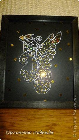 Моя повторюшка. Идея отсюда: https://www.pinterest.com/pin/125819383311810060/   Подарок на день рождения одной очень хорошей девочке. Она увидела моего первого Ангела, ей очень понравился, но тот Ангел был сделан для внучечки.   Анютка для тебя!  Пусть счастья будет полон дом, И станет без сомненья, Прекрасным, светлым, добрым днём День твоего рожденья !!!  Мама приедет, передам! фото 3