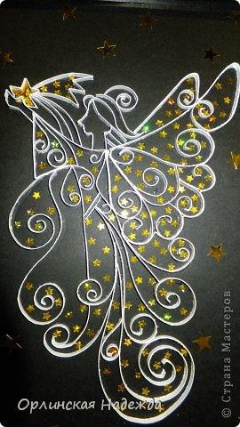 Моя повторюшка. Идея отсюда: https://www.pinterest.com/pin/125819383311810060/   Подарок на день рождения одной очень хорошей девочке. Она увидела моего первого Ангела, ей очень понравился, но тот Ангел был сделан для внучечки.   Анютка для тебя!  Пусть счастья будет полон дом, И станет без сомненья, Прекрасным, светлым, добрым днём День твоего рожденья !!!  Мама приедет, передам! фото 4