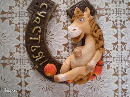 Мастер-класс Новый год Лепка Ой вы кони мои кони  Тесто соленое фото 1