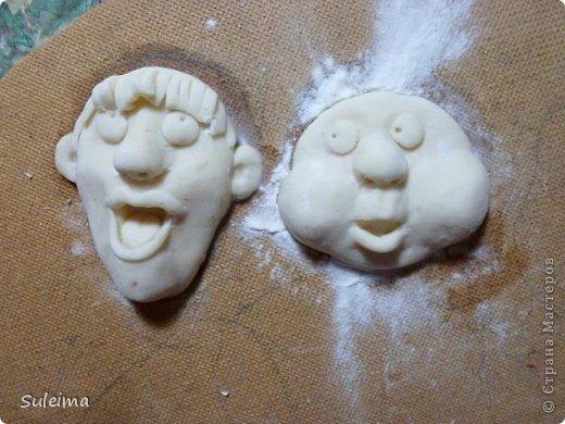 Мастер-класс Лепка Мы вам споем   соленое тесто  Тесто соленое фото 17