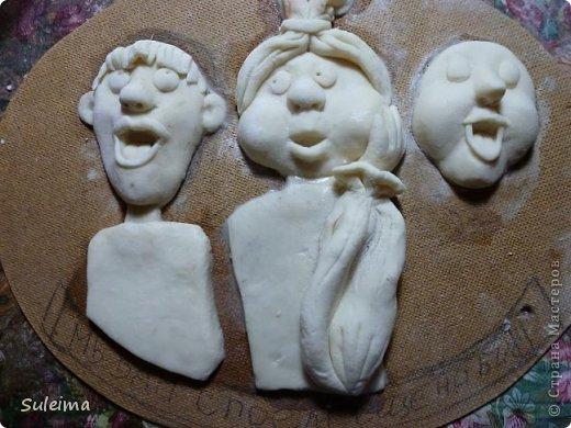 Мастер-класс Лепка Мы вам споем   соленое тесто  Тесто соленое фото 29