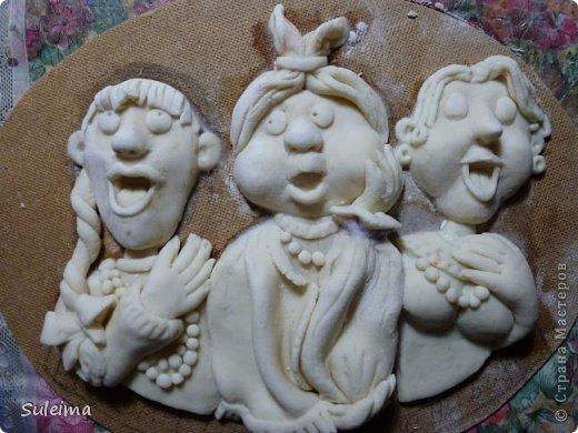 Мастер-класс Лепка Мы вам споем   соленое тесто  Тесто соленое фото 35