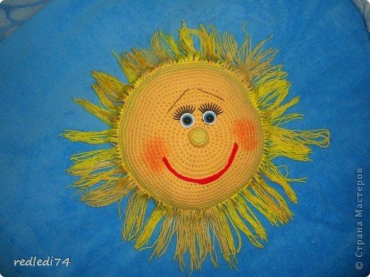 крючком Солнышко крючком
