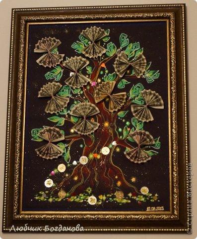 Денежное дерево, подарок на свадьбу. фото 4