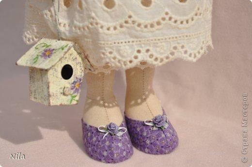 Текстильная кукла Анабель фото 4