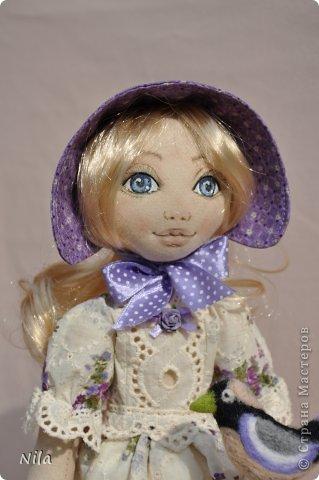 Текстильная кукла Анабель фото 2
