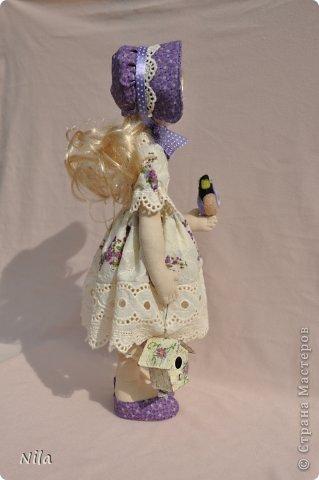 Текстильная кукла Анабель фото 3