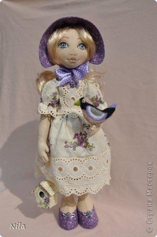 Текстильная кукла Анабель фото 1