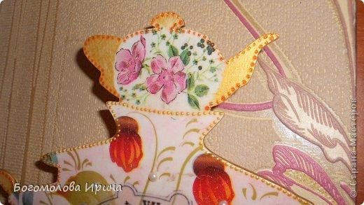 использована текстурная паста через трафарет фото 21