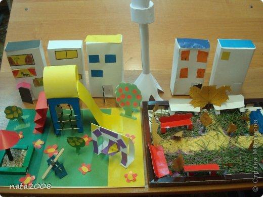 Город. Коллективная работа. фото 1