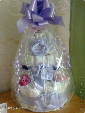 Вот такой получился тортик на день рождения дочки племянника. фото 9