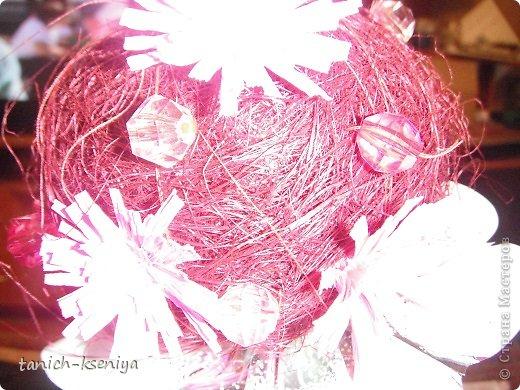 """Идея пришла мне в голову, когда начал увядать букет цветов подаренный мне на день рождения. Вот такой """"Букетик невесты"""" у меня получился. Рассказываю.... фото 12"""