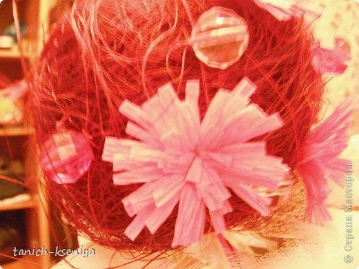 """Идея пришла мне в голову, когда начал увядать букет цветов подаренный мне на день рождения. Вот такой """"Букетик невесты"""" у меня получился. Рассказываю.... фото 11"""