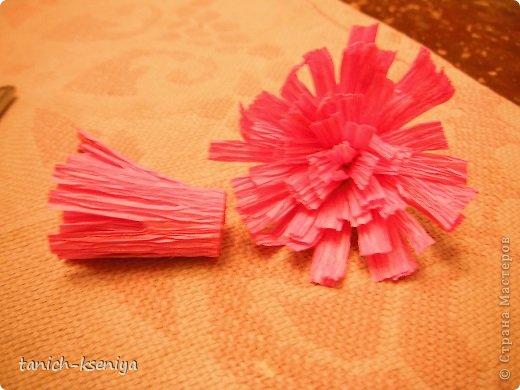 """Идея пришла мне в голову, когда начал увядать букет цветов подаренный мне на день рождения. Вот такой """"Букетик невесты"""" у меня получился. Рассказываю.... фото 8"""