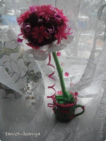 """Идея пришла мне в голову, когда начал увядать букет цветов подаренный мне на день рождения. Вот такой """"Букетик невесты"""" у меня получился. Рассказываю.... фото 16"""