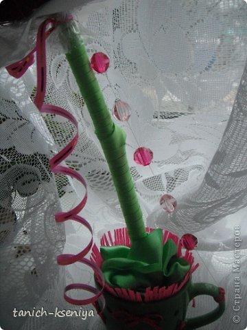 Бонсай топиарий Свадьба Моделирование конструирование Топарий Букет для невесты Бумага газетная Бумага гофрированная Бусины Гипс Дерево Клей Ленты Нитки Сутаж тесьма шнур фото 14