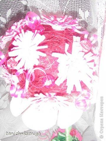 """Идея пришла мне в голову, когда начал увядать букет цветов подаренный мне на день рождения. Вот такой """"Букетик невесты"""" у меня получился. Рассказываю.... фото 15"""