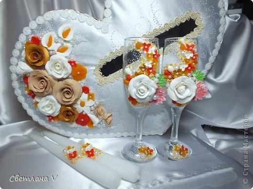 """Свадьба в """"осенних"""" цветах, была попытка сделать яркий набор, но при этом не переусердствовать) фото 6"""
