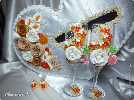 """Свадьба в """"осенних"""" цветах, была попытка сделать яркий набор, но при этом не переусердствовать) фото 3"""
