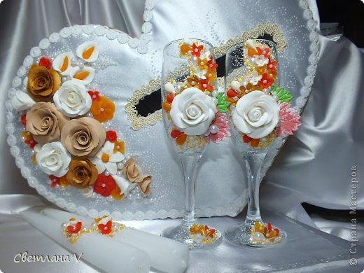 """Свадьба в """"осенних"""" цветах, была попытка сделать яркий набор, но при этом не переусердствовать) фото 1"""