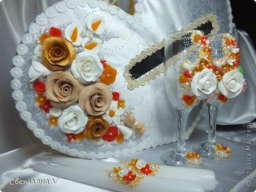 """Свадьба в """"осенних"""" цветах, была попытка сделать яркий набор, но при этом не переусердствовать) фото 2"""