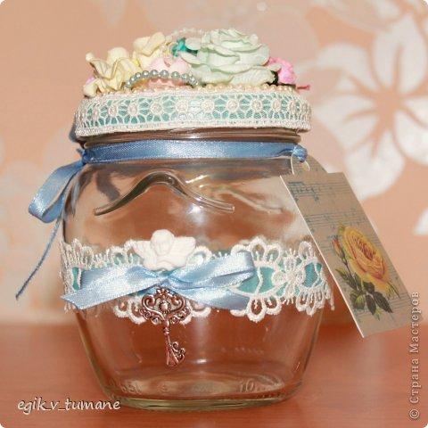 Декор предметов Скрапбукинг Баночка 101 причина почему я люблю тебя Банки стеклянные Бумага Кружево фото 5