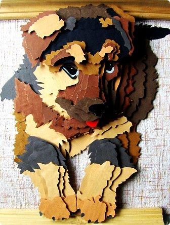 Волк. Размер работы 41х57 см. фото 16