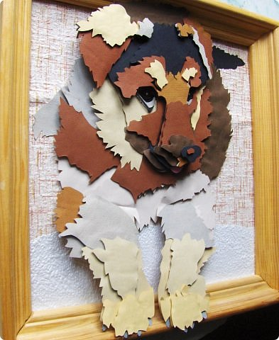 Волк. Размер работы 41х57 см. фото 13