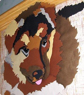 Волк. Размер работы 41х57 см. фото 14