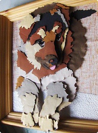 Волк. Размер работы 41х57 см. фото 15