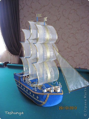 Кораблики из фантиков своими руками