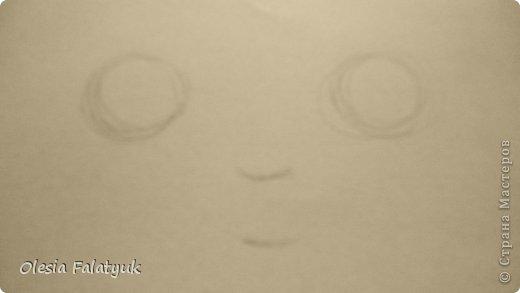 Урок рисования Рисование и живопись Рисовать лицо Дети куклы Карандаш фото 2