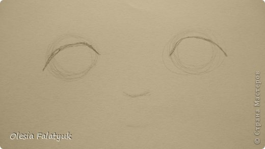 Урок рисования Рисование и живопись Рисовать лицо Дети куклы Карандаш фото 3