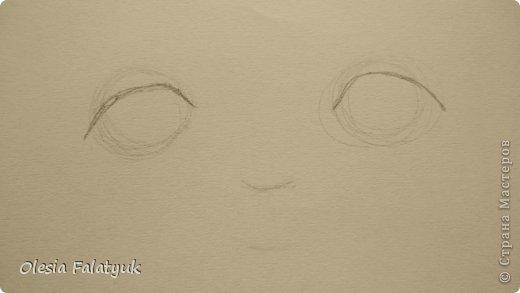 Рисовать лицо. Дети, куклы. фото 3