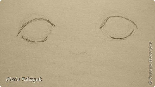 Рисовать лицо. Дети, куклы. фото 4
