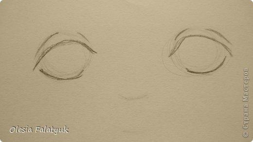 Рисовать лицо. Дети, куклы. фото 5