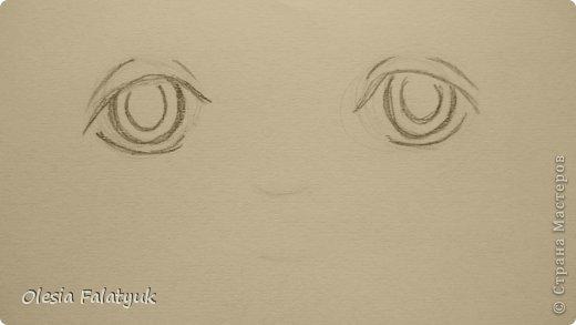 Рисовать лицо. Дети, куклы. фото 7