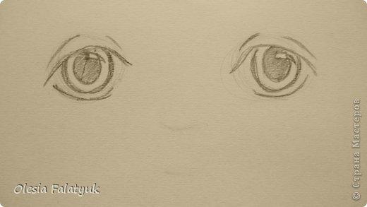 Рисовать лицо. Дети, куклы. фото 8