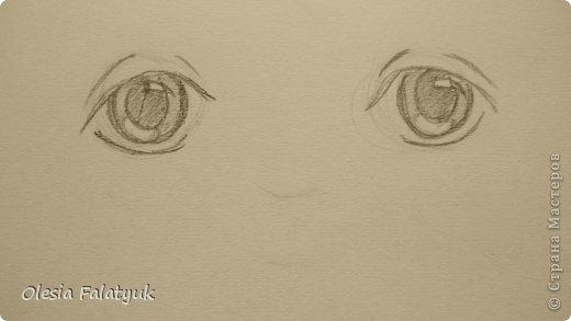 Рисовать лицо. Дети, куклы. фото 9