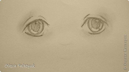 Рисовать лицо. Дети, куклы. фото 10