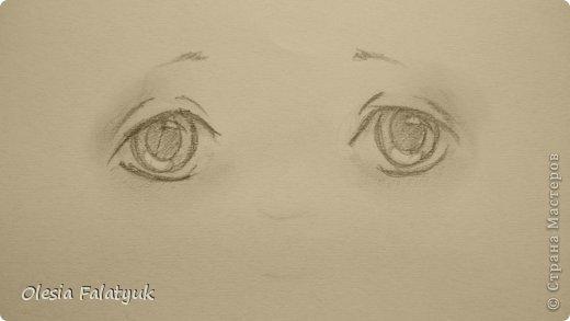 Рисовать лицо. Дети, куклы. фото 11