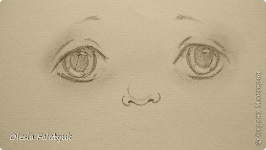 Рисовать лицо. Дети, куклы. фото 14